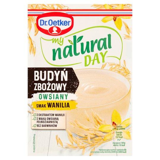 Dr. Oetker my natural day Budyń zbożowy owsiany smak wanilia