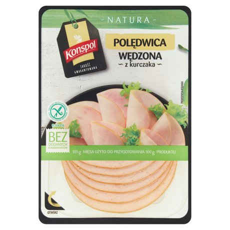 Konspol - Polędwica wędzona z kurczaka bez glutenu, bez laktozy
