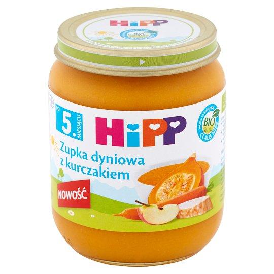 HiPP BIO Zupka dyniowa z kurczakiem po 5. miesiącu