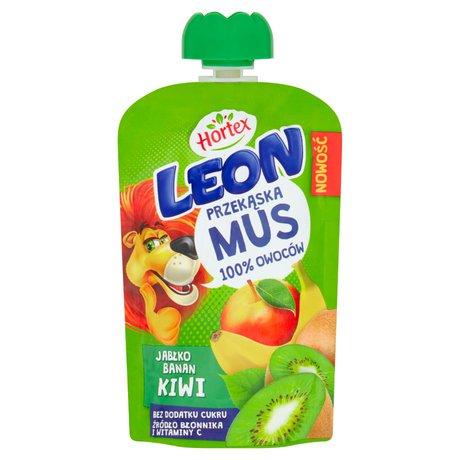 Hortex - Leon mus owocowy jabłko banan kiwi