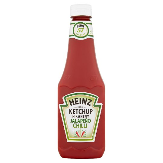 Heinz Ketchup pikantny jalapeño chilli