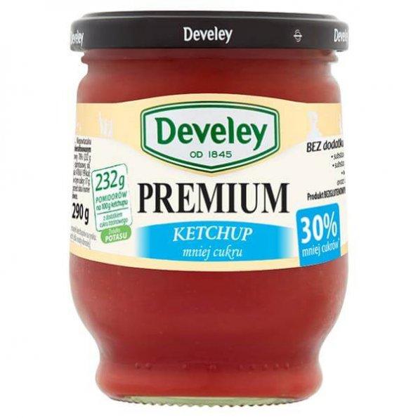 Develey Ketchup Premium Mniej Cukrów*