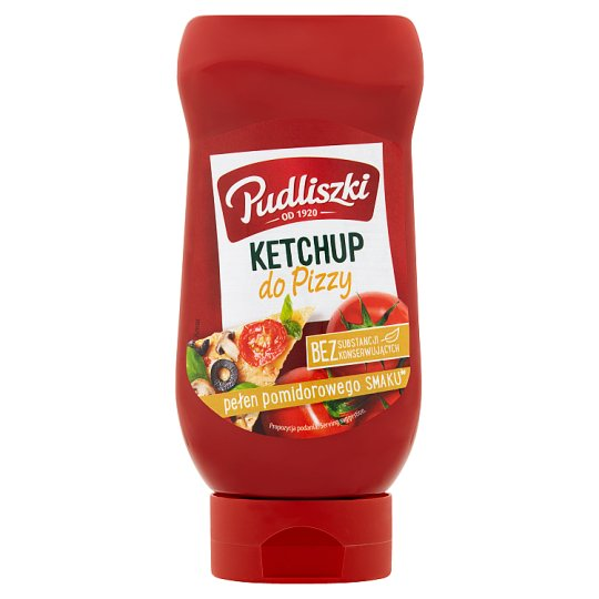 Pudliszki Ketchup do pizzy