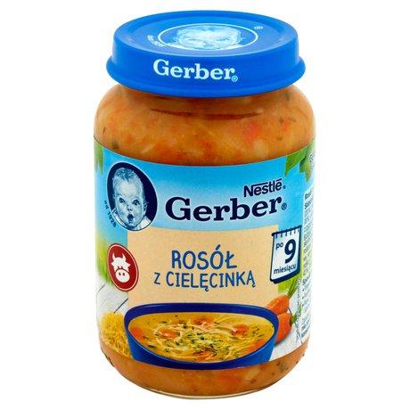 Gerber - Zupka rosołek z cielęcinką