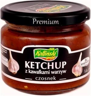 Kotliński Specjał Ketchup Z Kawałkami Warzyw - Czosnek