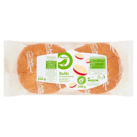 Auchan - Bułki do hamburgerów