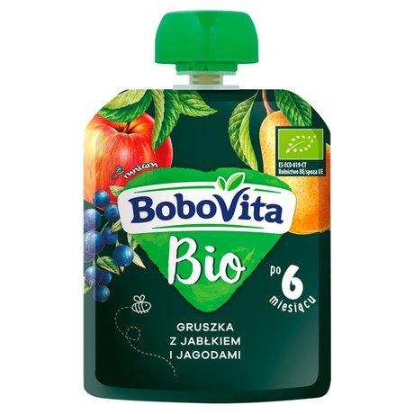 BoboVita, Mus Gruszka z jabłkiem i jagodami BoboVita Bio