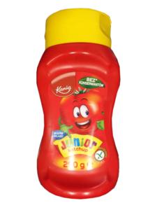 Kania Junior ketchup (Lidl)