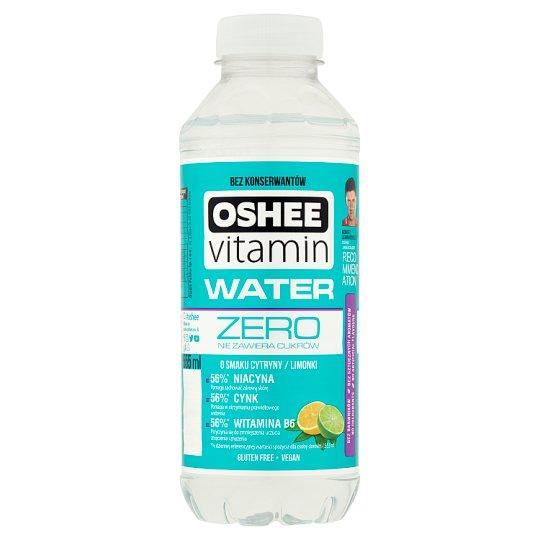 Oshee Vitamin Water Zero Niegazowany napój o smaku cytryny-limonki