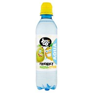Jusico Aqua Napój Niegazowany O Smaku Cytrynowo-Gruszkowym