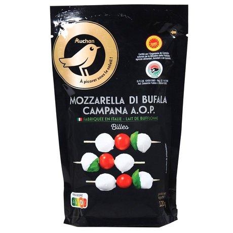 Auchan - Mmm! Mini Mozzarella Di bufala Campana