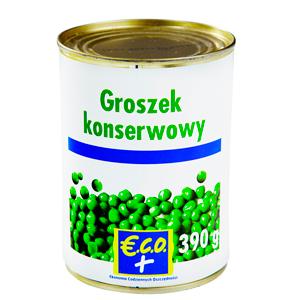 Eco+ Groszek Konserwowy