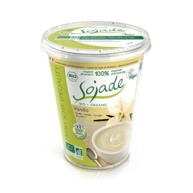 Sojade Jogurt wegański waniliowy BIO bezluten. fit vanilla vegan