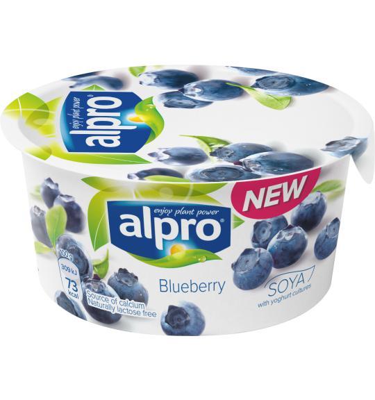 Jagodowe Alpro sojowe z kulturami bakterii jogurtowych