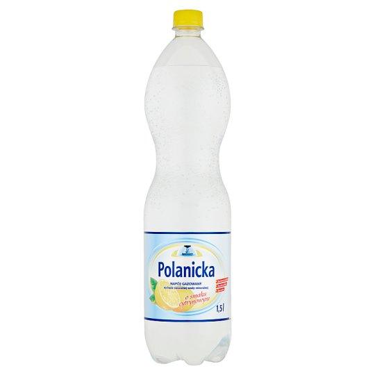 Polanicka Napój gazowany na bazie naturalnej wody mineralnej o smaku cytrynowym