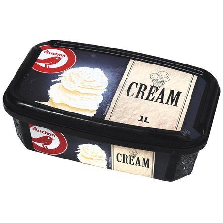 Auchan - Cream lody śmietankowe