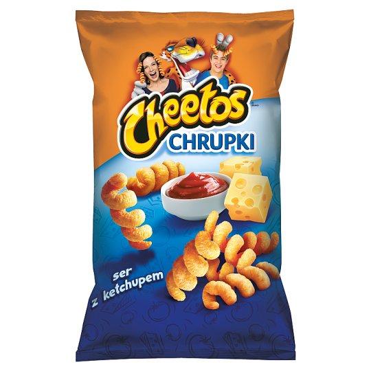 Cheetos Chrupki kukurydziane o smaku serowo-ketchupowym