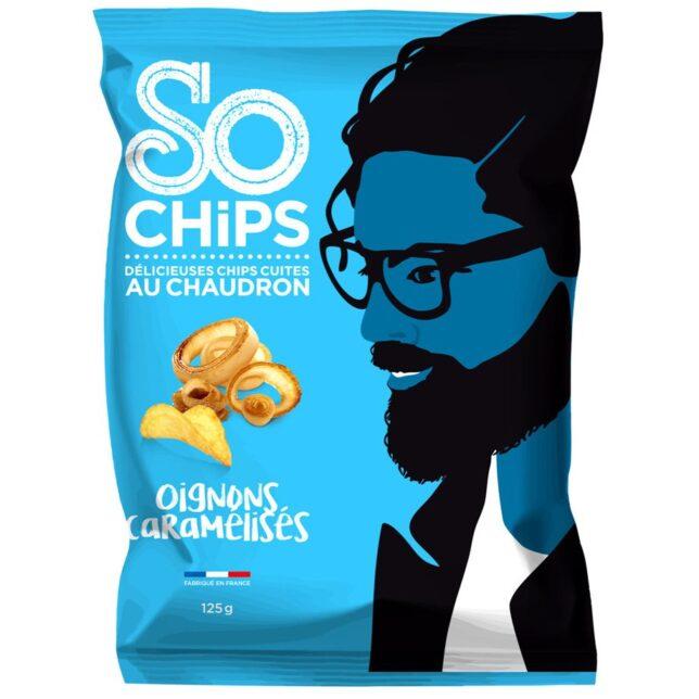 So Chips - Chipsy o smaku cebulowym