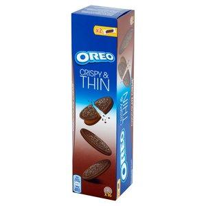 Oreo Crispy & Thin Ciastka Kakaowe Z Nadzieniem O Smaku Czekoladowym