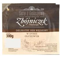 SERY Z GOLISZEWA Zbójniczek Ondraszek Ser wędzony w dymie olchowym