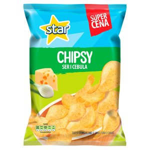 Star Chipsy Ser I Cebula