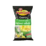 Wiodąca Marka Chipsy Ziemniaczane O Smaku Zielonej Cebulki