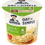 Quaker Oat So Simple Apple & Blueberry Mieszanka do przygotowania owsianki