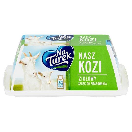 NaTurek Nasz Kozi Serek do smarowania ziołowy