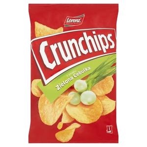 Crunchips Chipsy Ziemniaczane O Smaku Zielona Cebulka