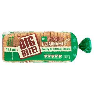 Big Bite! Tost Pszenny Z Ziarnami Chleb Tostowy Pszenny Z Ziarnami Krojony