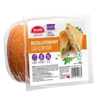 INCOLA Bezglutenowa chleb tostowy jasny