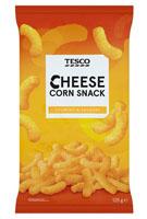 Tesco Chrupki kukurydziane o smaku serowym