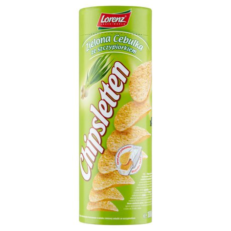 Chipsletten - Chipsy o smaku zielonej cebulki