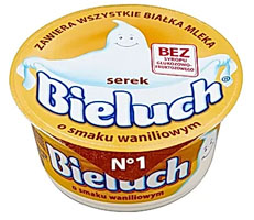 Bieluch Serek o smaku waniliowym
