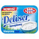 Mlekovita Deliser Serek twarogowy kanapkowy klasyczny