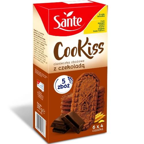 Sante, Ciasteczka zbożowe Cookiss z czekoladą