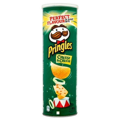 Pringles - Chipsy o smaku ser i cebula