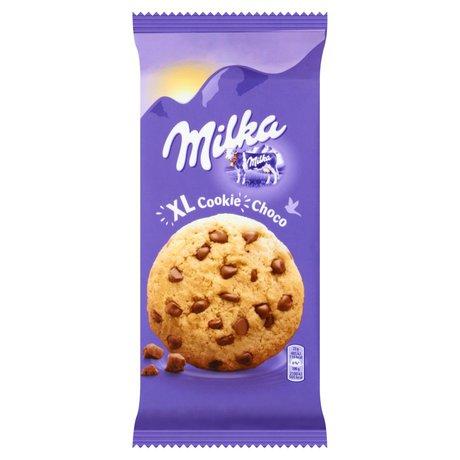 Milka - Cookies XL Choco ciastka z kawałkami czekolady