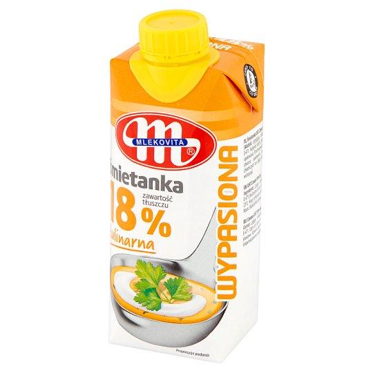 Mlekovita Wypasiona Śmietanka kulinarna 18%