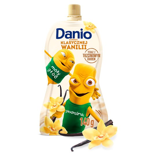 Danone Danio Serek homogenizowany o smaku waniliowym