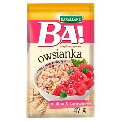 Bakalland - BA ! owsianka malina & żurawina