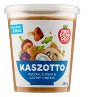 PAN POMIDOR Kaszotto pęczak, śliwka & grzyby shiitake danie gotowe