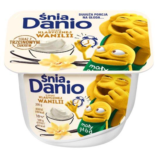 Danone ŚniaDanio Serek homogenizowany o smaku waniliowym