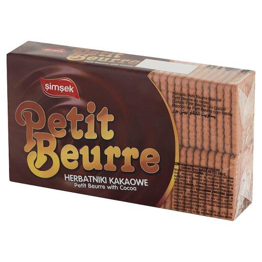 Simsek Herbatniki Petit Beurre kakaowe