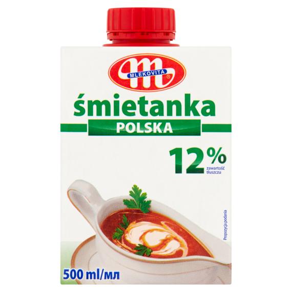 Mlekovita Śmietanka Polska 12%