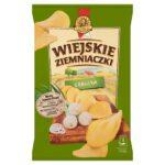 Wiejskie Ziemniaczki Chipsy ziemniaczane o smaku cebulki