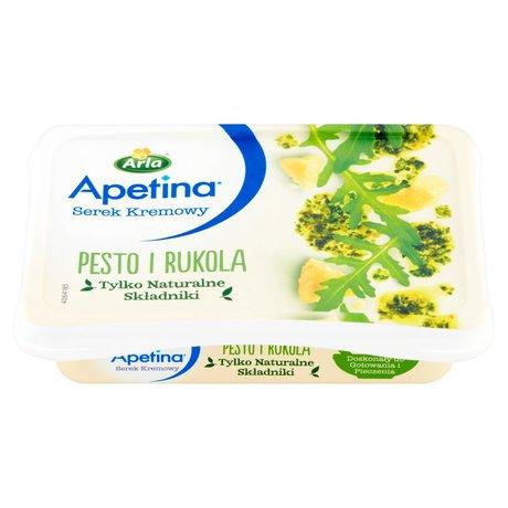 Arla Apetina - serek kremowy z pesto i rukolą