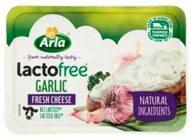 ARLA Lactofree Serek kremowy bez laktozy z czosnkiem i przyprawami