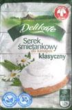 Delikate Serek śmietankowy (Biedronka)