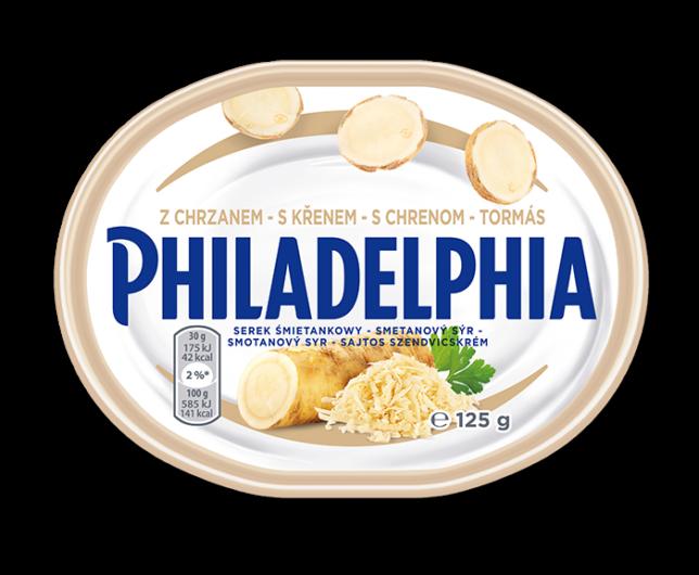 Philadelphia z chrzanem